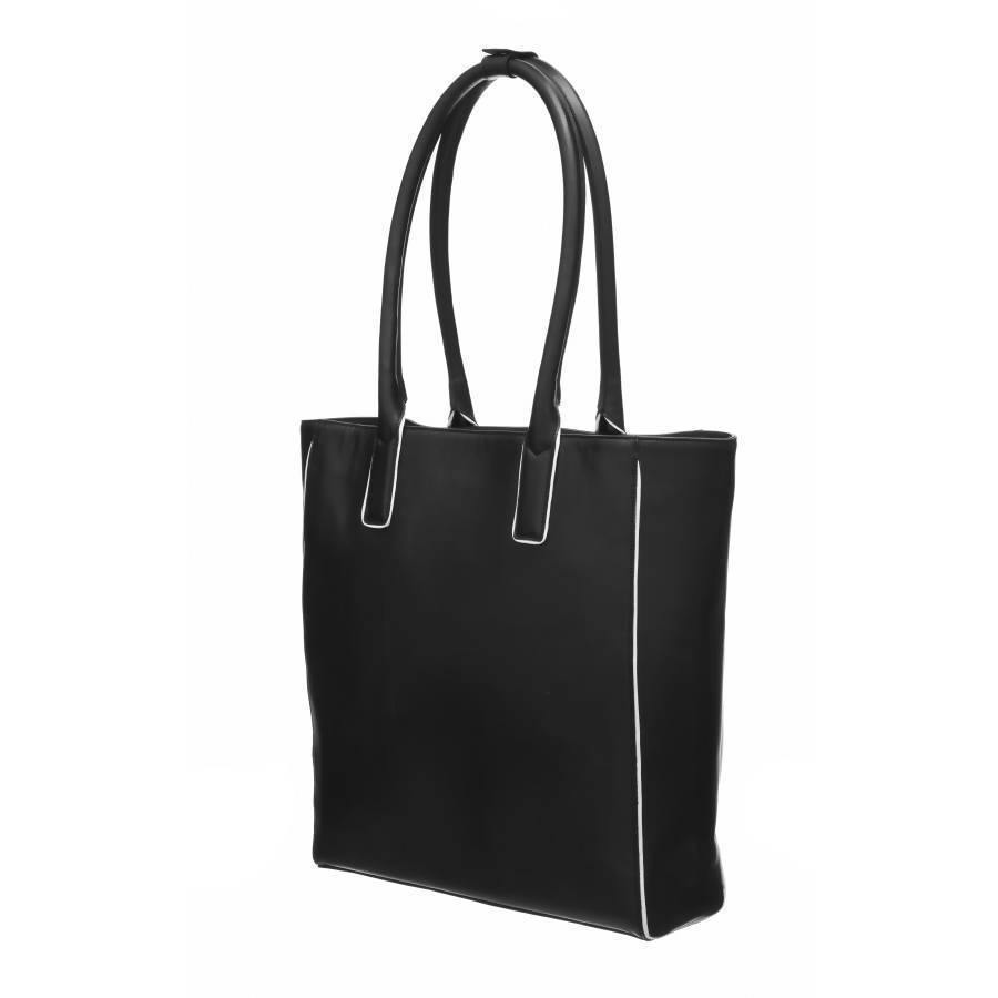 Brix + Bailey Piped Leather Tote Bag - Brix and Bailey Bag and Accessory Brand