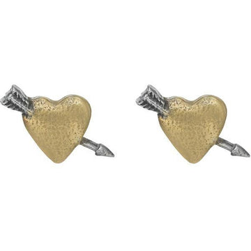 True Love Heart Stud Earrings - Brix and Bailey® - Contemporary Bag, Watch and Accessory Brand