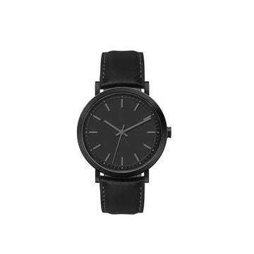 Black Minimal Classic Style Watch - Brix and Bailey® - Contemporary Bag and Accessory Brand