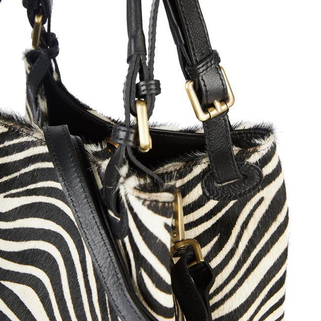 Zebra hobo Cavallino Bag Brix Bailey