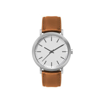 White Minimal Classic Style Men's Watch - Brix and Bailey® - Contemporary Bag, Watch and Accessory Brand