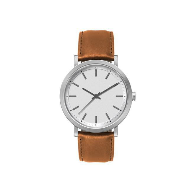 White Minimal Classic Style Watch