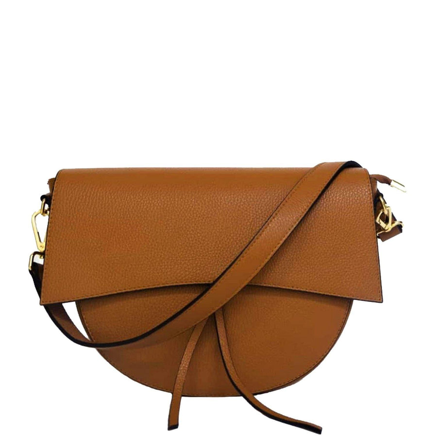 Tie Front Leather Cross-Body Bag - Brix and Bailey® - Contemporary Bag, Watch and Accessory Brand