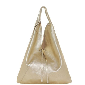 Gold Metallic Boho Soft Leather Bag - Brix and Bailey® - Contemporary Bag, Watch and Accessory Brand