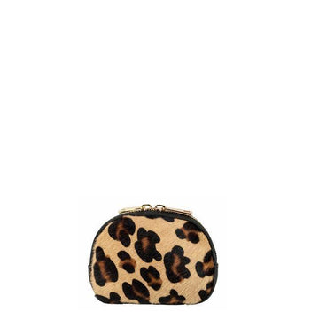 Leopard Animal Hair On Hide Coin Purse - Brix and Bailey® - Contemporary Bag, Watch and Accessory Brand