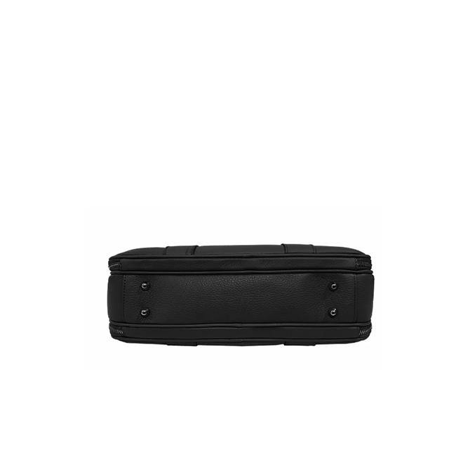 Men's Black Attache Work Bag