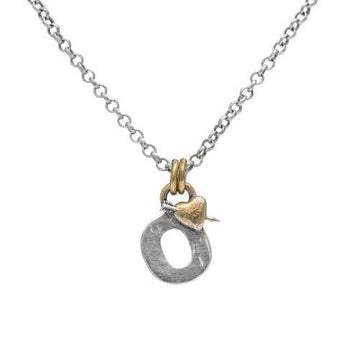 Letter O Initial Pendant Necklace