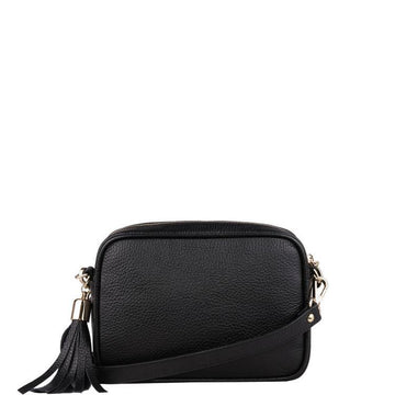 Leather Cross-Body Tassel Camera Bag - Brix and Bailey® - Contemporary Bag, Watch and Accessory Brand