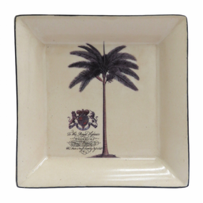 Casablanca Square decorative Plate