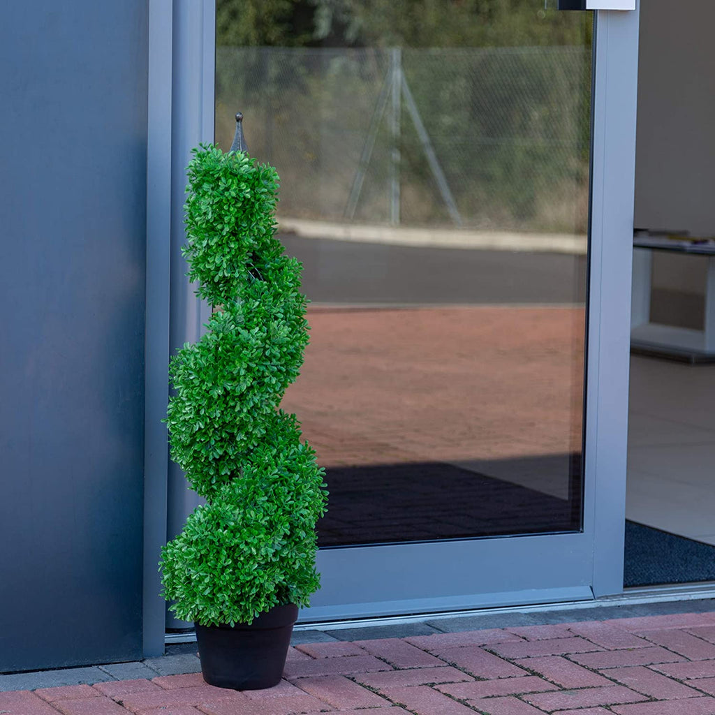 Artificial 3ft Boxwood Spiral Tree