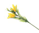 Artificial 80cm Single Stem Golden Yellow Oriental Lily