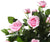 Artificial 4ft Pink Rose Tree - Closer2Nature