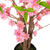 "Artificial 4ft 5"" Peach Cherry Blossom Tree Closer2Nature"