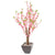 "Artificial 4ft 5"" Peach Cherry Blossom Tree"