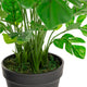 "Artificial 1ft 5"" Swiss Cheese Plant Closer2Nature"