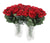 Floral Elegance Artificial 48cm Single Stem Gift Wrapped Red Rose - Closer2Nature