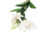 Artificial 87cm Single Stem White Oriental Lily