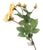Artificial 87cm Single Stem Golden Yellow and Pink Tipped Spray Rose - Closer2Nature