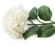 Artificial 87cm Single Stem White Mophead Hydrangea - Closer2Nature