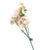 Artificial 80cm Single Stem Pink and White Japanese Cherry Blossom Closer2Nature