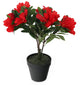Artificial 1ft 6″ Red Alpine Rhododendron Plant - Closer2Nature