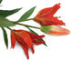 Artificial 87cm Single Stem Deep Orange Oriental Lily Closer2Nature