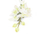 Artificial 84cm Single Stem White and Green Cymbidium Orchid - Closer2Nature