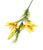 Artificial 80cm Single Stem Golden Yellow Oriental Lily - Closer2Nature