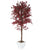Artificial 6ft 1″ Purple Japanese Maple Tree - Closer2Nature