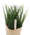 Artificial 21cm Chive Herb Plant - Closer2Nature