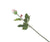 Artificial 60cm Single Stem Closed Bud Pale Pink Rose - Closer2Nature