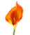 Artificial 94cm Single Stem Orange Calla Lily Closer2Nature