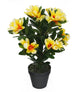 Artificial 1ft 10″ Alpine Rhododendron Plant - Closer2Nature