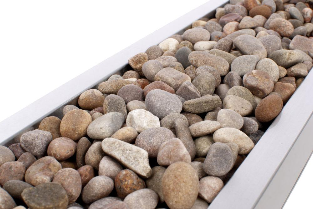 4kg Decorative Smooth River Stones - Closer2Nature