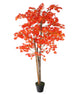 "Artificial 5ft 3"" Red Japanese Maple Tree Closer2Nature"