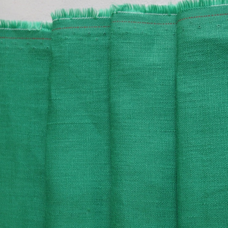 Sophie - 100% Mid-Weight Linen - Spring Green