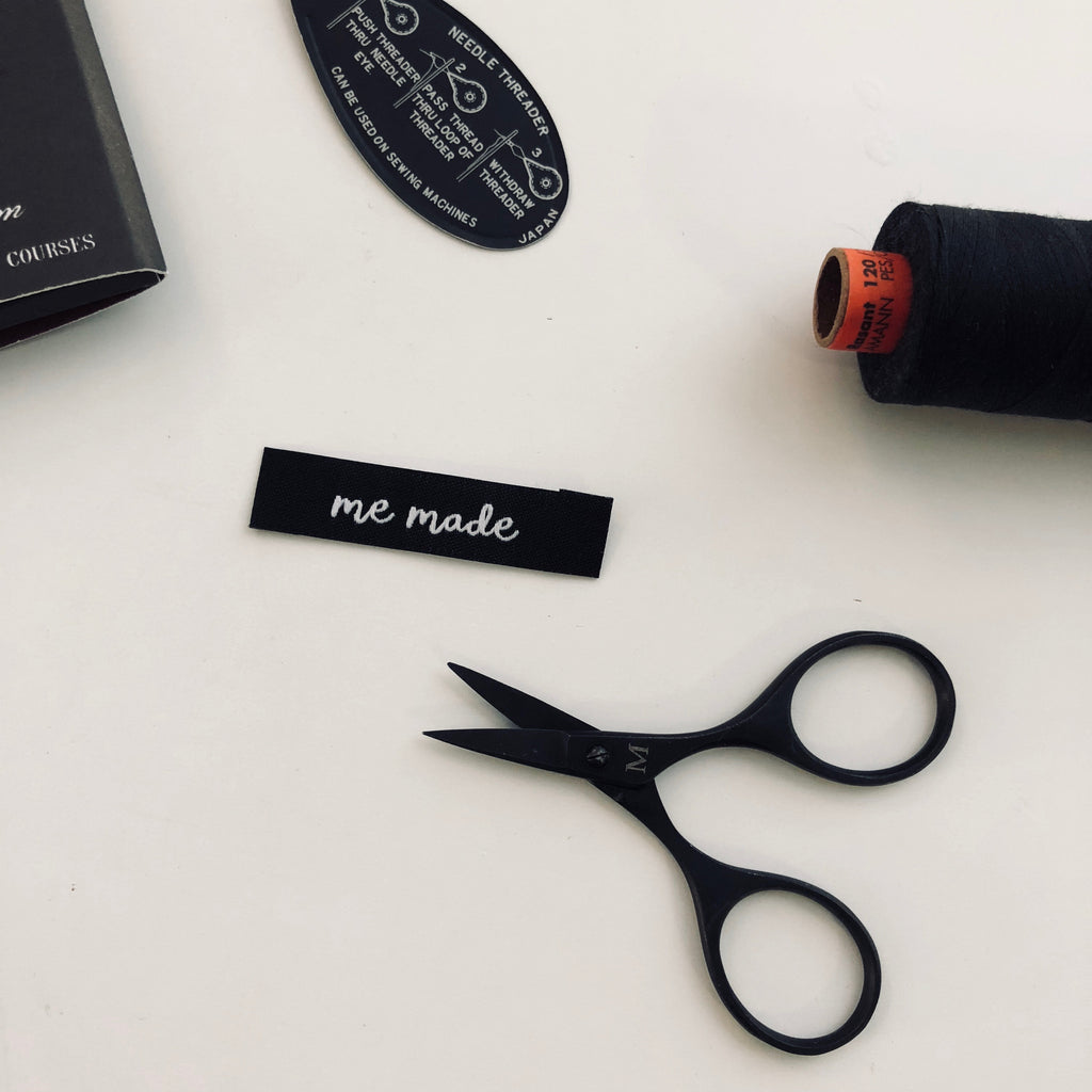 "Kylie and the Machine - Woven labels - ""Me Made"""