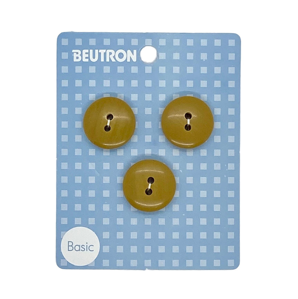 Beutron - Brown Buttons - 20mm