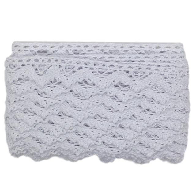 Sewing Gem - Cluny Lace Knit - White