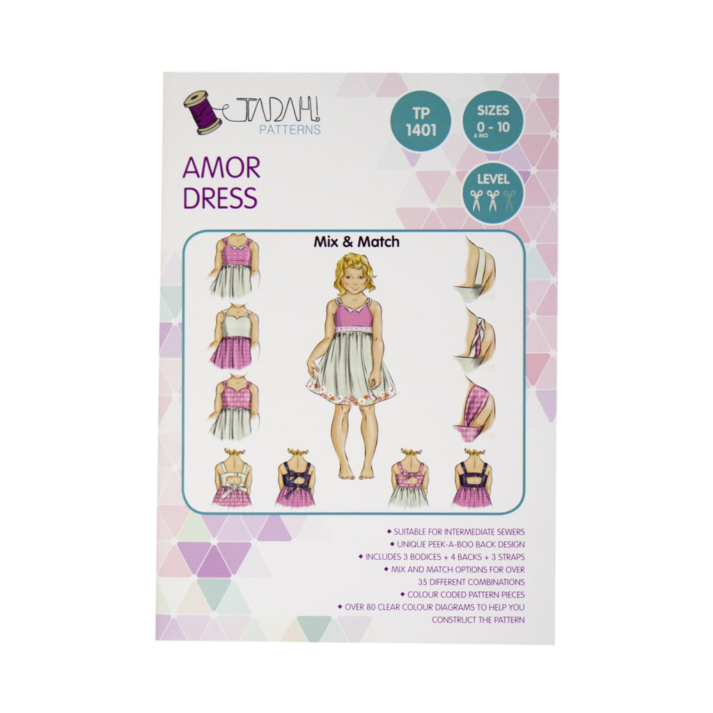 Tadah! Patterns - Amor Dress