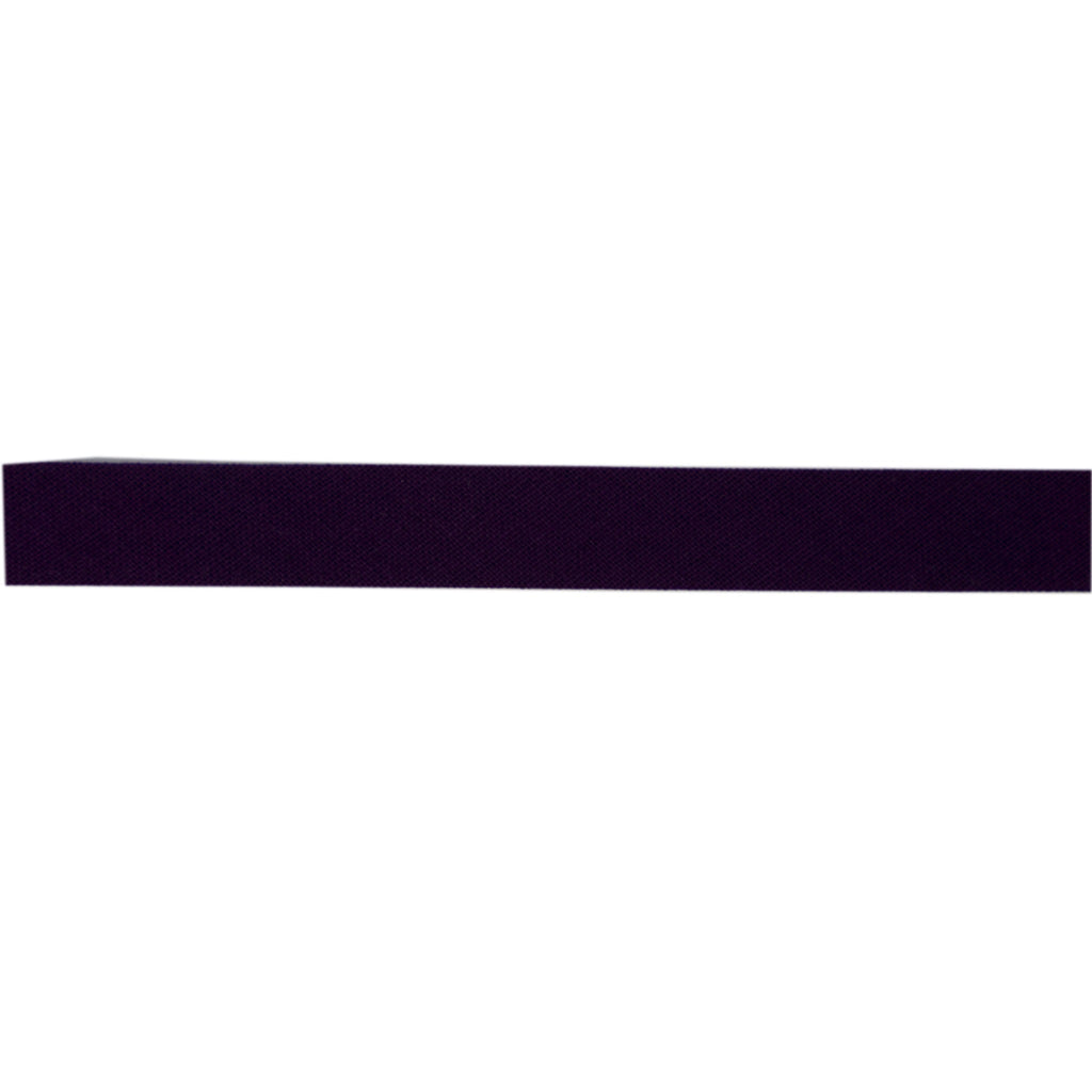 Sewing Gem - 12mm Bias Binding - 100% Cotton - Black