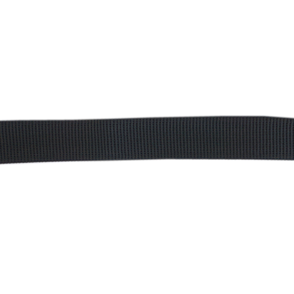 Uni-Trim - Ribbed Non-Roll Elastic - 25mm Wide - Black