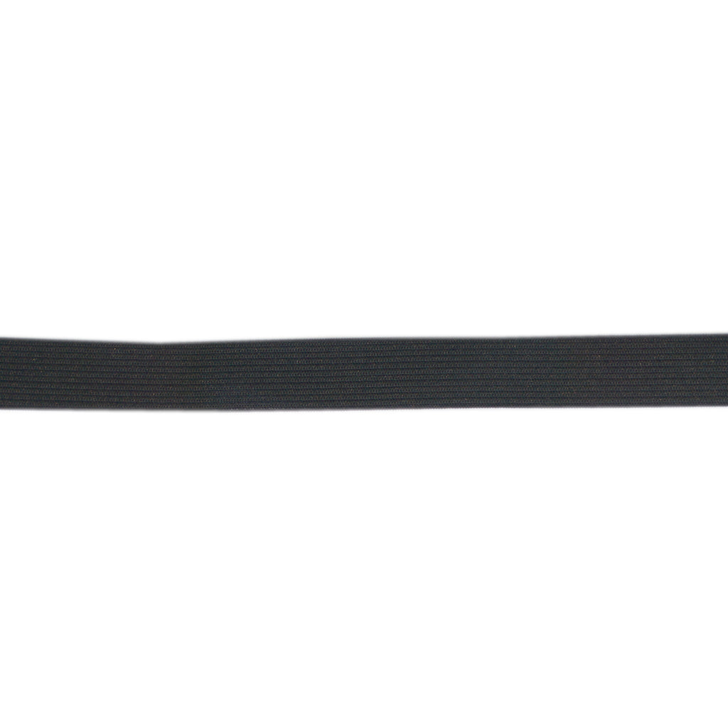 Uni-Trim - Double Knitted Elastic - 25mm Wide - Black