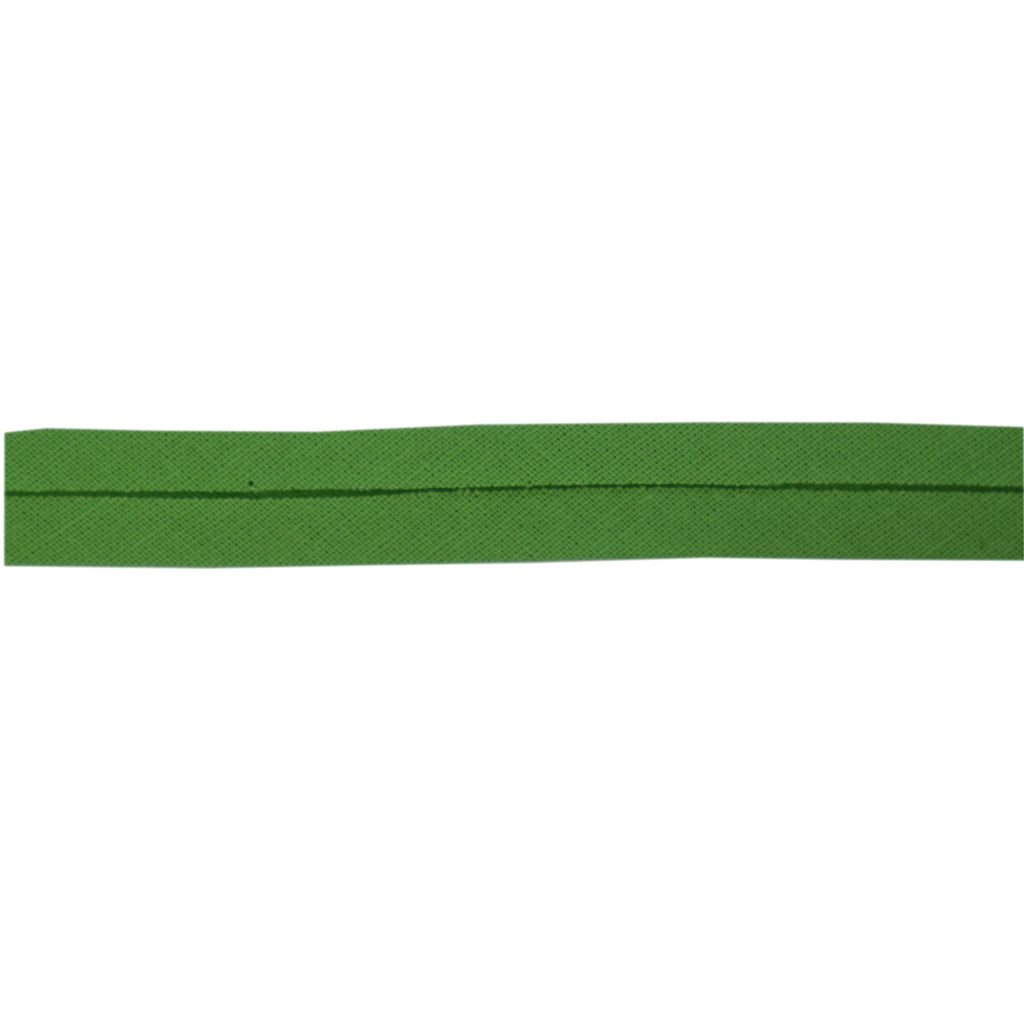 Sewing Gem - 12mm Bias Binding - 100% Cotton - Green