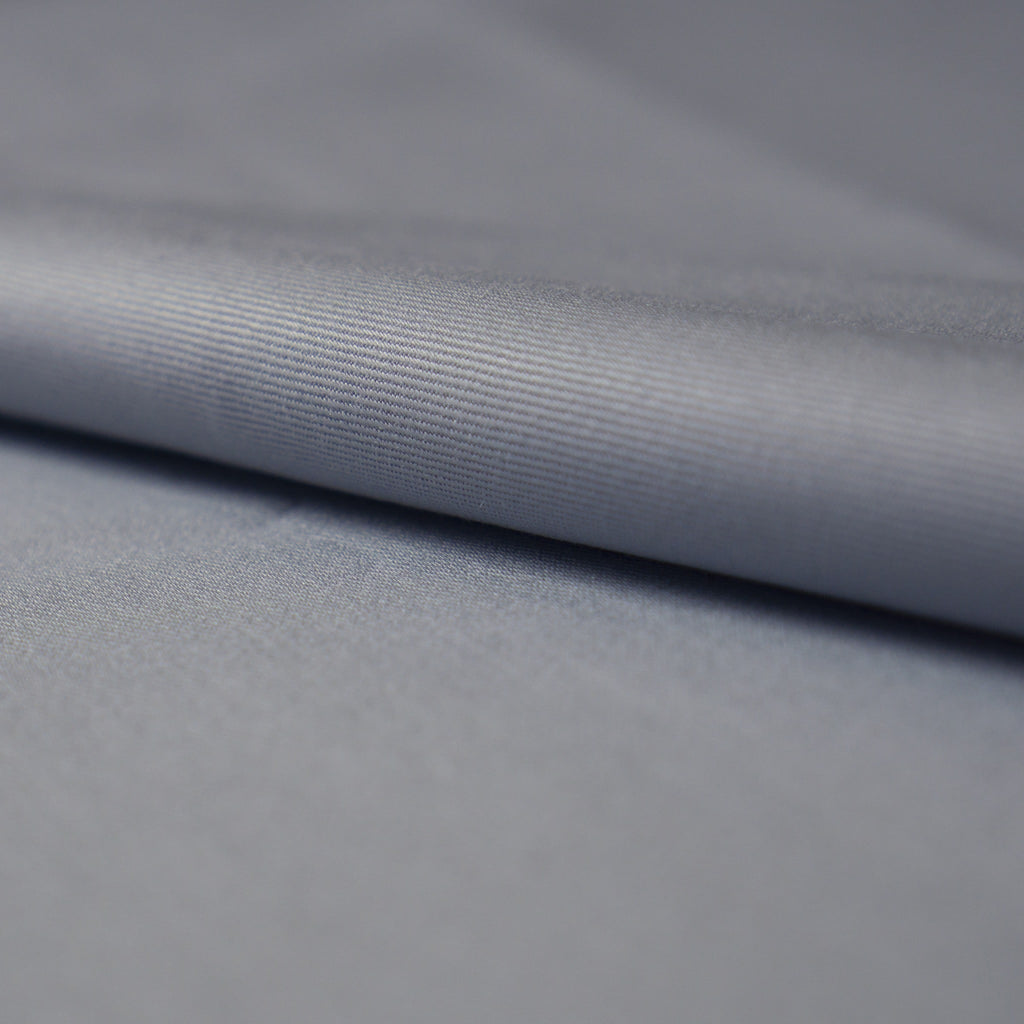 Cotton Twill - Blue/Grey