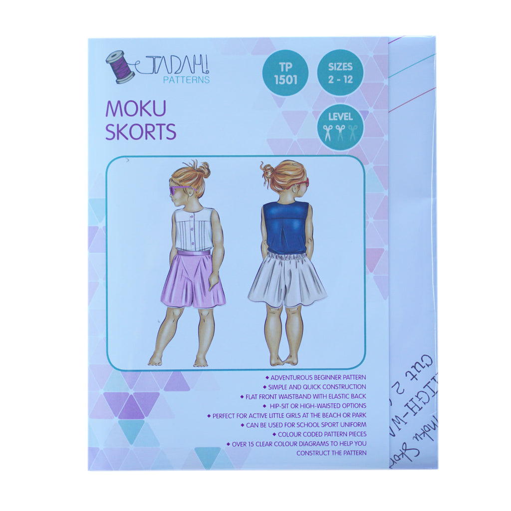 Tadah! Patterns - Moku Skorts Pattern