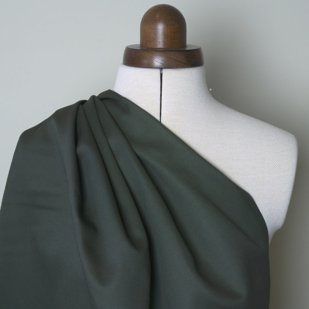 Cotton Twill - Olive Green