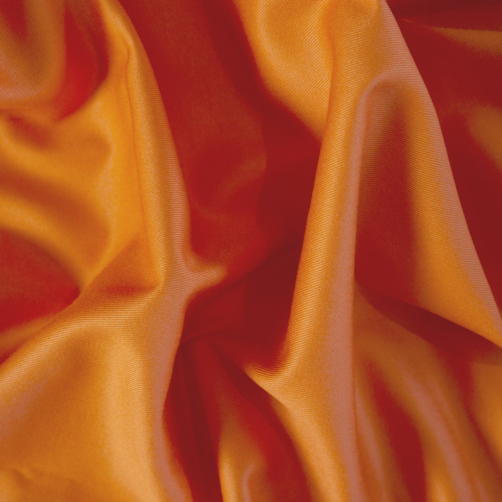Cotton Twill - Bright Orange