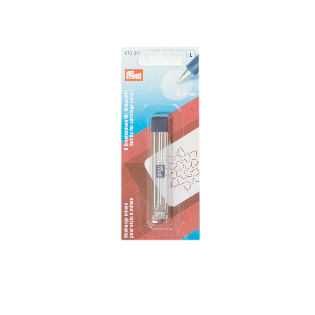 Prym - Cartridge Pencil Refills - 0.9Mm White - All Products
