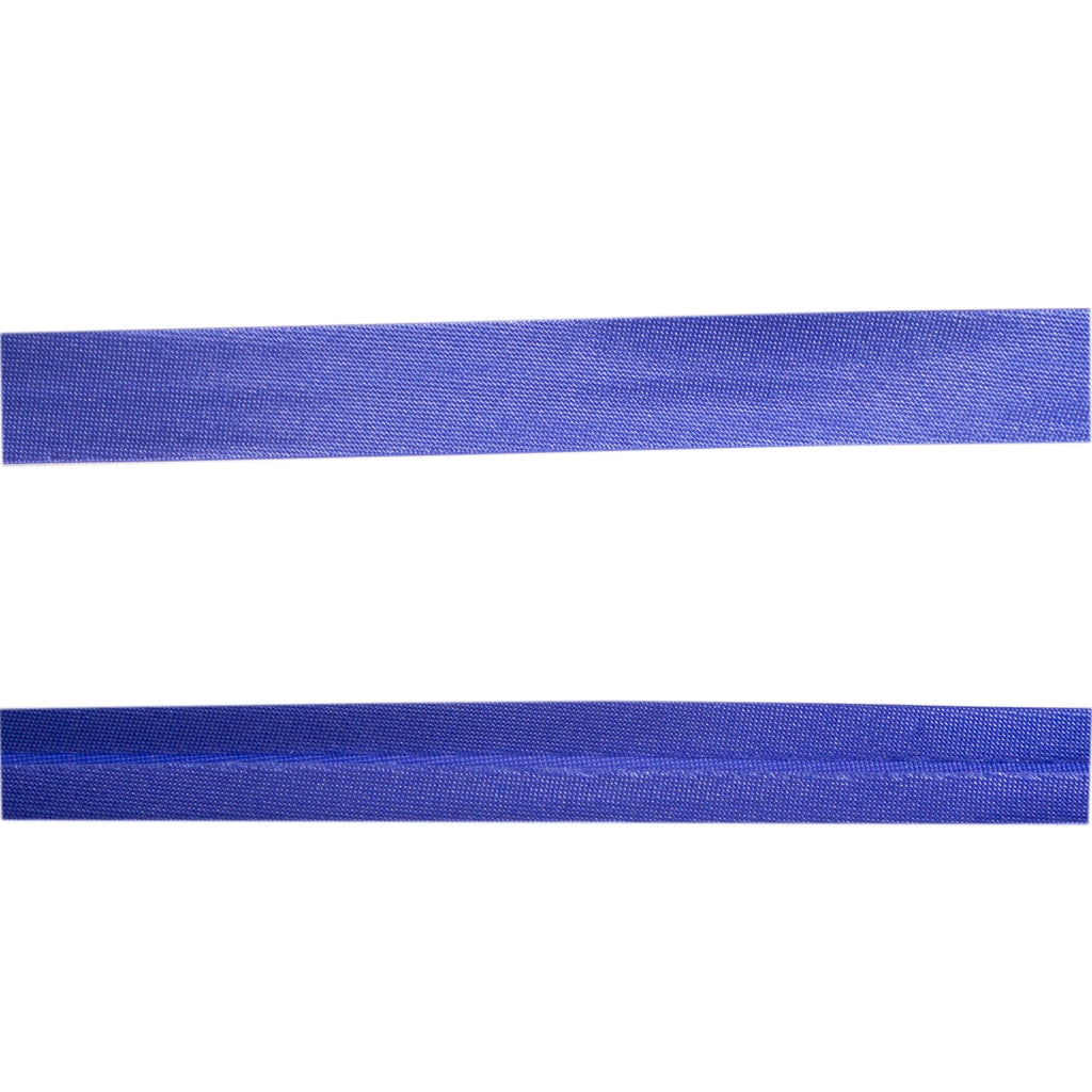 Sewing Gem - 12mm Satin Bias Binding - Royal Blue